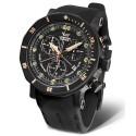 Zegarek męski na pasku silikonowym