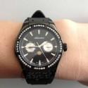 zegarek damski czarny Adriatica