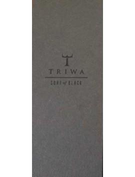 TRIWA Sort Of Black Gold Mesh