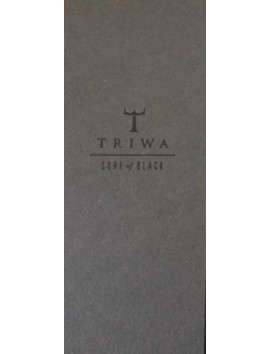 TRIWA Sort Of Black Chrono Black