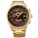 zegarek Orient FEU07003TX-męski złoty na bransolecie