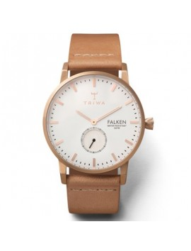 Zegarek damski Triwa Falken Rose Tan Classic FAST101.CL010614