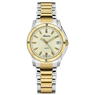 zegarek damski złoty Adriatica A3626.2151QZ