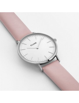 CLUSE La Boheme Silver White/Pink
