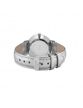 CLUSE Minuit Metallic Silver White/Silver