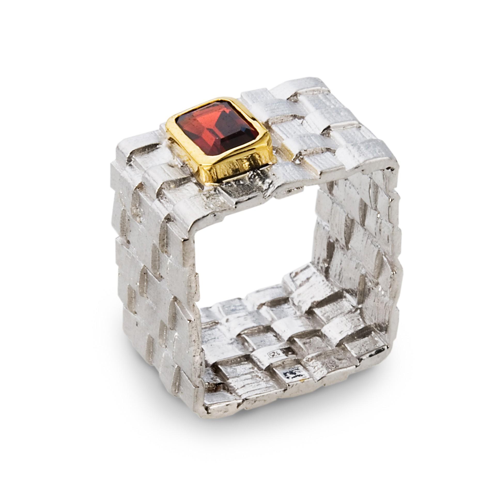 K100444 German Kabirski srebrna biżuteria