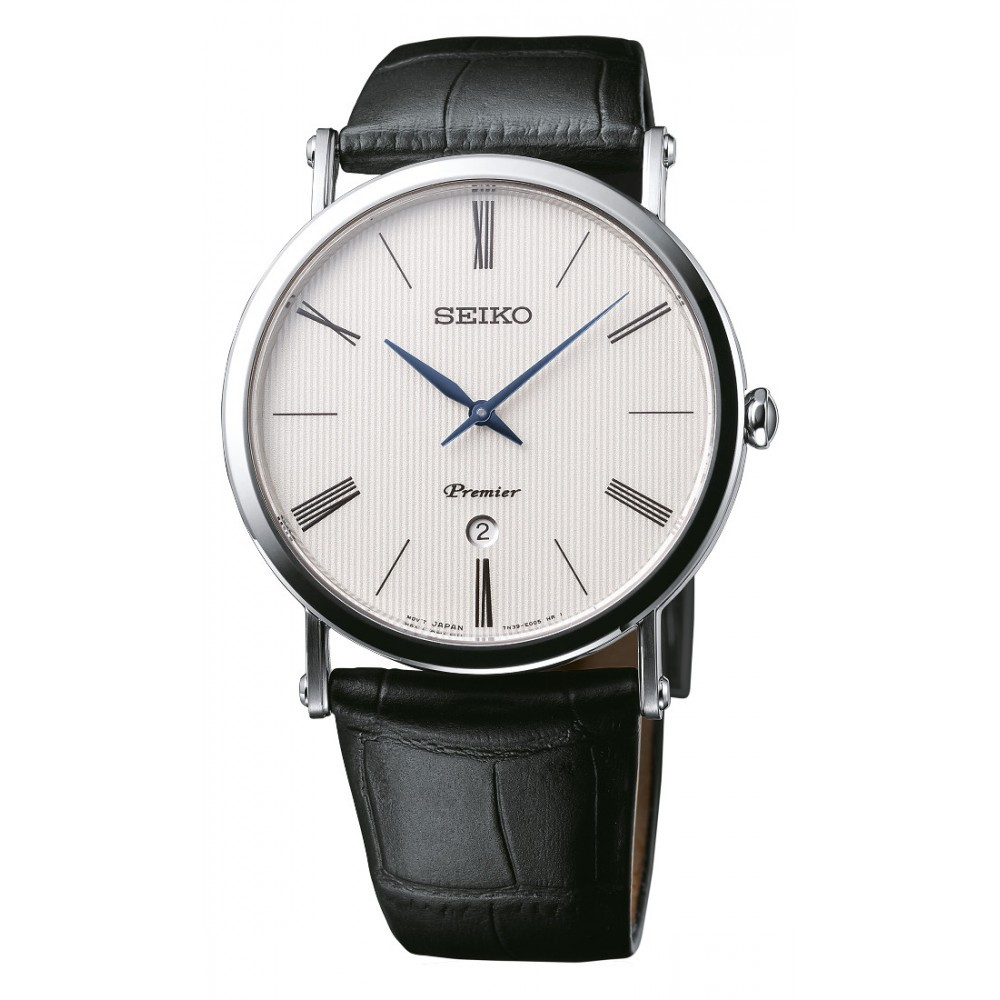 zegarek męski na pasku Seiko SKP395P1