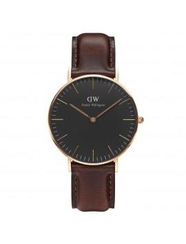 Zegarek damski DANIEL WELLINGTON Classic Black Bristol DW00100137