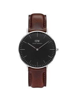 Zegarek damski DANIEL WELLINGTON Classic Black Bristol DW00100143