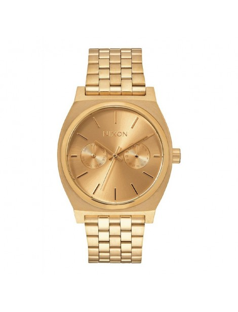 NIXON Time Teller Deluxe All Gold