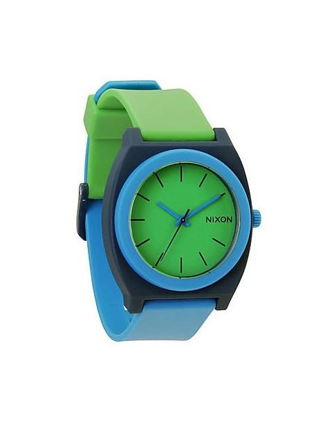NIXON Time Teller P Green/Blue/Navy