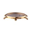 zegarek w stylu mariner- złota koperta