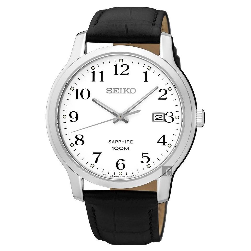 zegarek męski na pasku Seiko SGEH69P1
