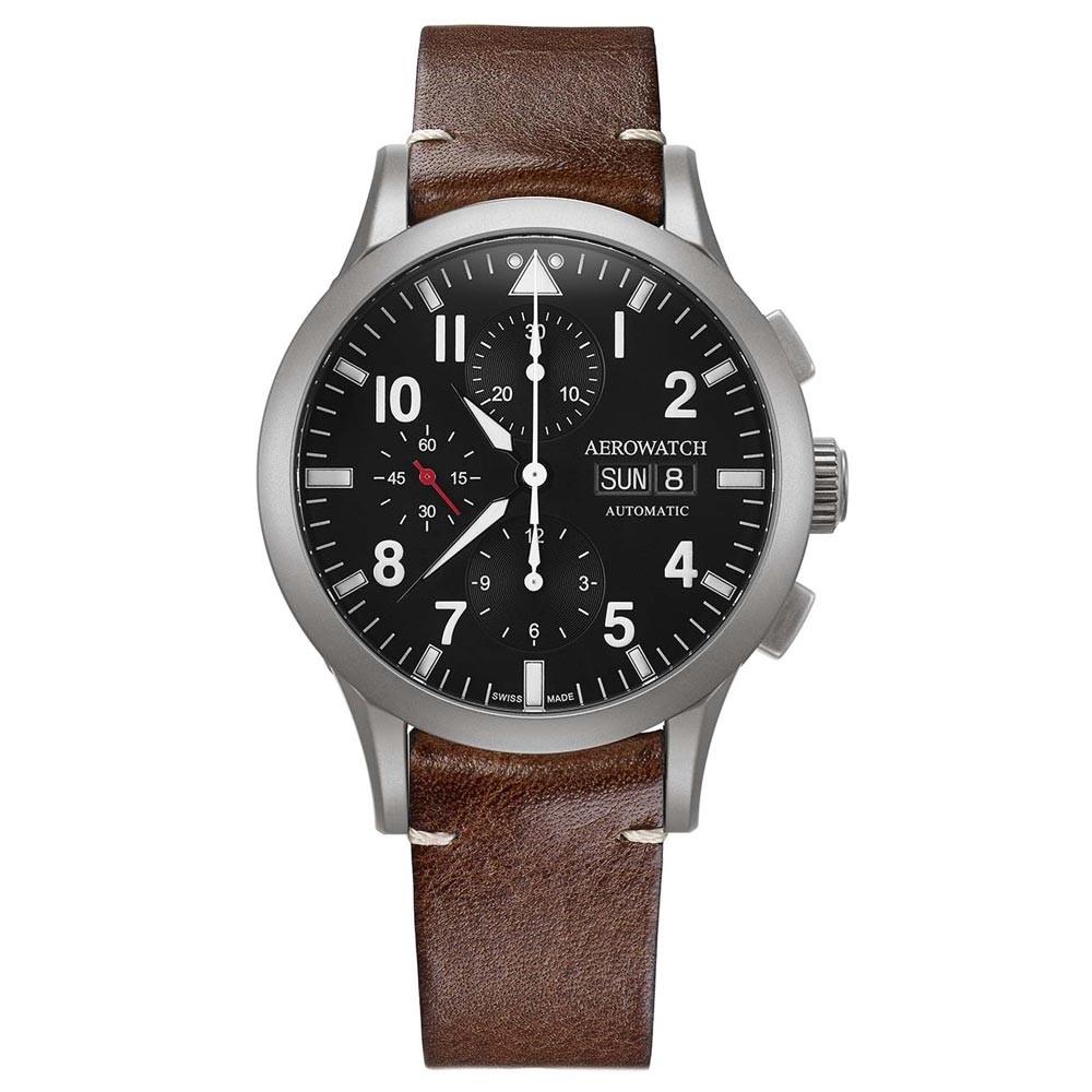 zegarek męski Aerowatch Les Grandes Classiques Pilote A 61968 AA03
