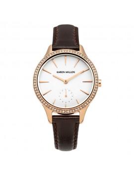 Zegarek damski Karen Millen KM112TRGA