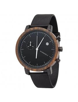 zegarek męski Kerbholz Franz Sandalwood/Midnight Black