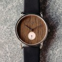 zegarek damski Kerbholz Frida Silver/Walnut/Midnight Black