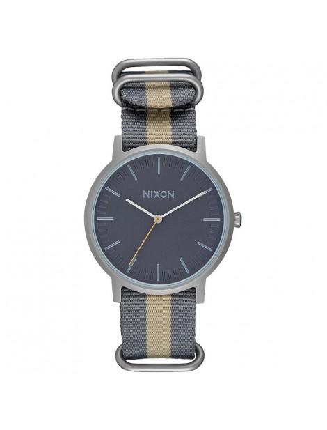 zegarek Nixon Porter Nylon Gray/Taupe