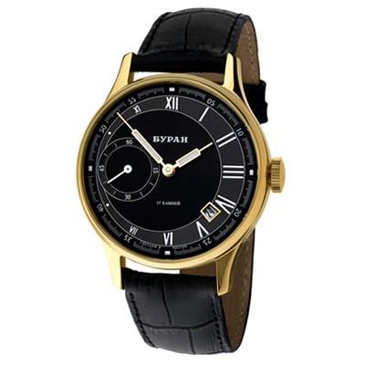 zegarek męski na pasku Buran