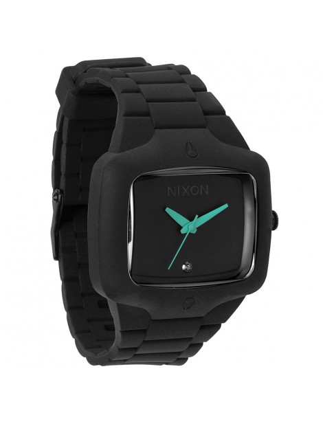 NIXON Rubber Player Black/Teal