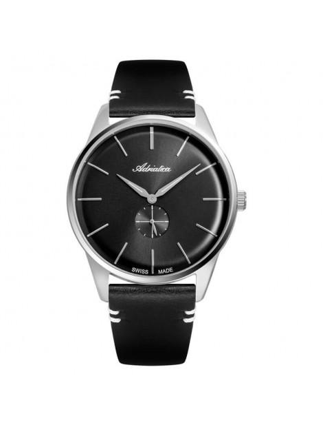 czarny zegarek męski Adriatica A8264.5216Q