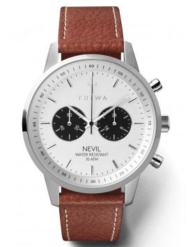 zegarek TRIWA NEVIL Raven Tumbled Brown Sewn NEST119-TS010212