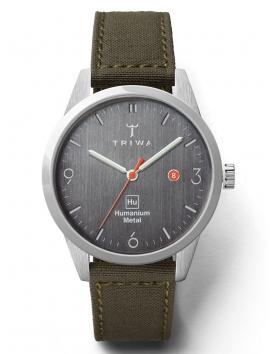 HU39D-CL080912 TRIWA Humanium Hu39D Recycled Green męski zegarek sportowy
