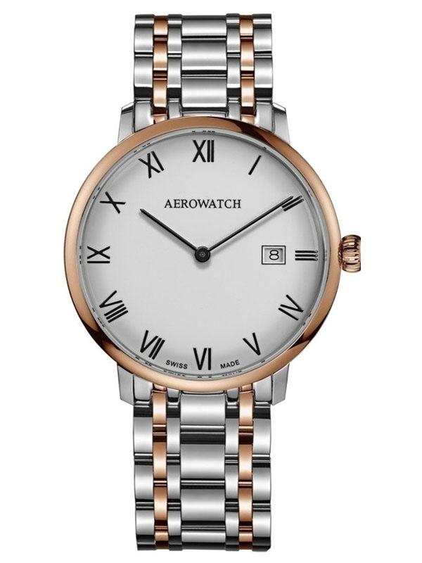 zegarek AEROWATCH Heritage Slim Quartz A 21976 BI01 M
