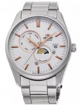 stalowy zegarek z datownikiem