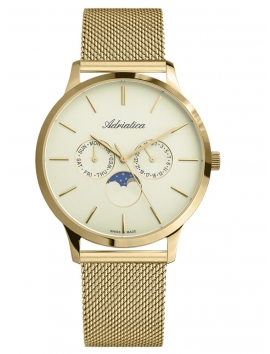 A1274.1111QF Adriatica złoty zegarek męski