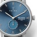 Srebrny męski zegarek