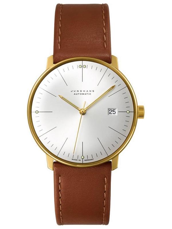męski zegarek na pasku Junghans 027/7002.02