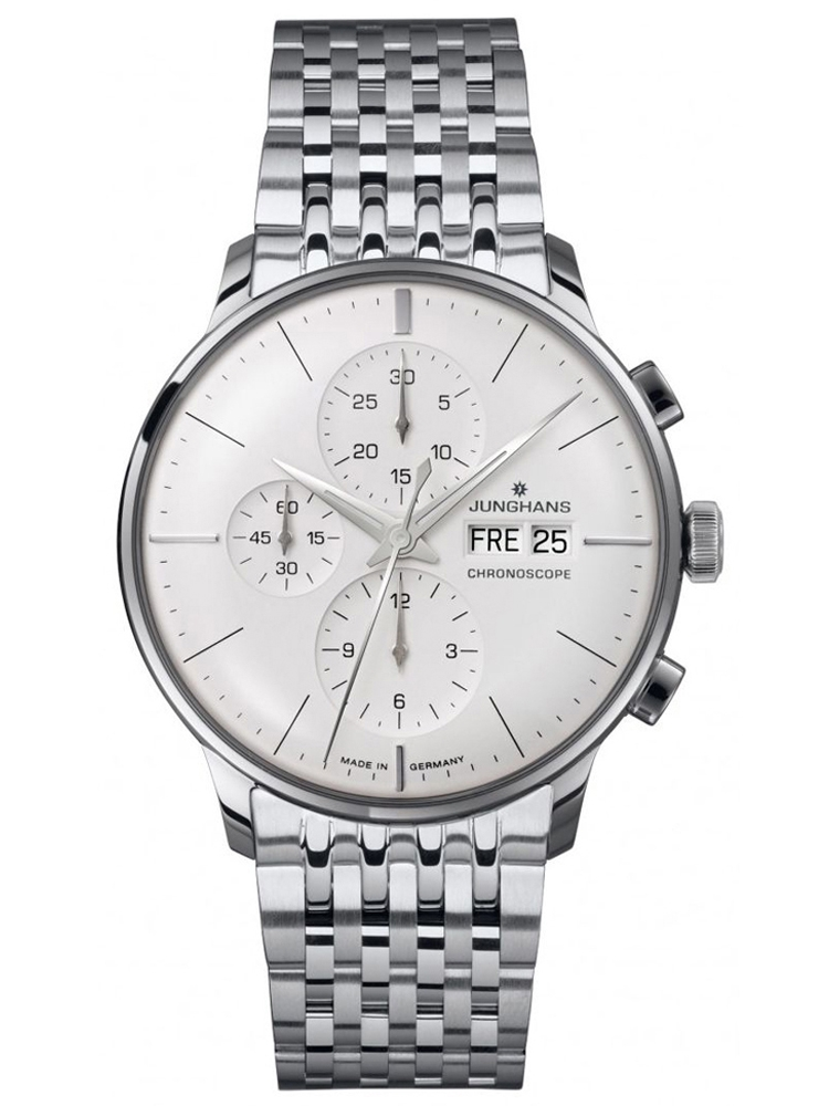 zegarek męski na bransolecie Junghans 027/4121.44