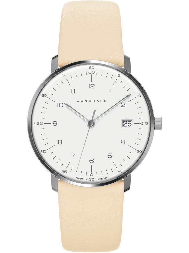 damski zegarek na pasku Junghans 047/4252.04