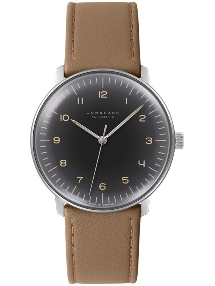 męski zegarek na pasku Junghans