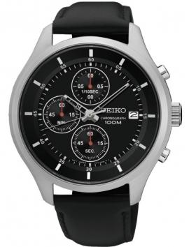 zegarek męski na pasku Seiko Chronograf SKS539P2