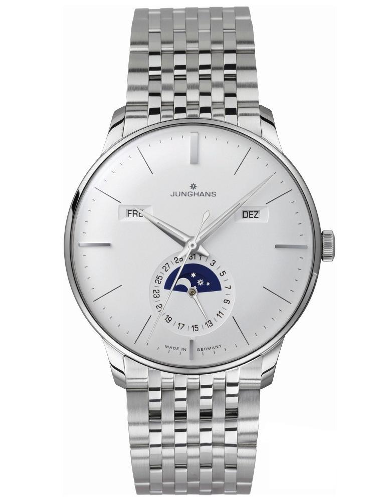 Zegarek męski na bransolecie JUNGHANS Meister Kalender 027/4201.44