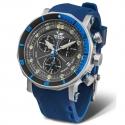 Zegarek męski z wymiennym paskiem silikonowym