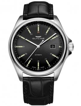 Zegarek męski na pasku skórzanym GLYCINE Combat 6 GL0109
