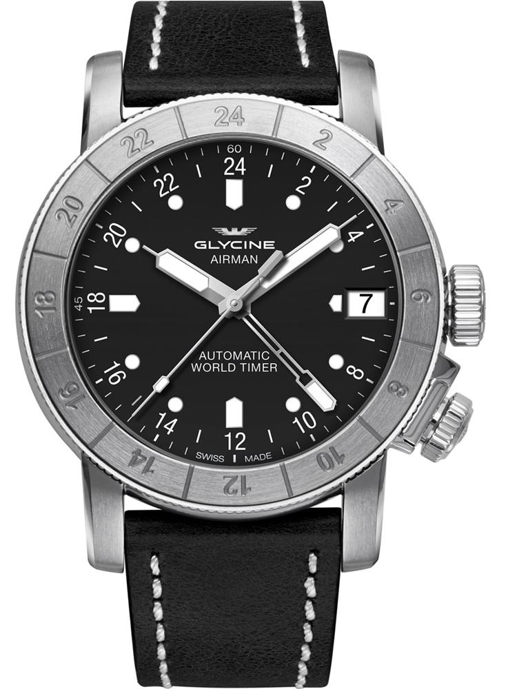 Szwajcarski zegarek męski GLYCINE Airman 46 GL0059