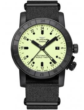 zegarek męski na pasku GLYCINE Airman 42 GL0069