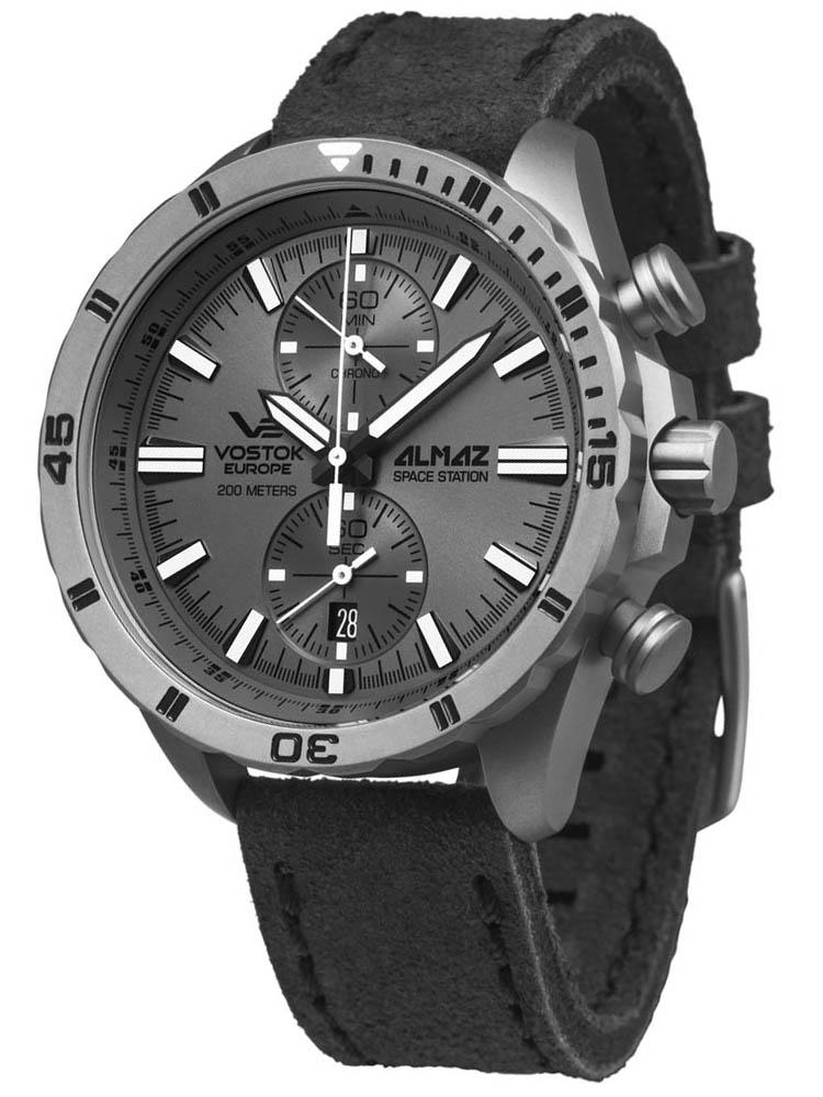 Zegarek męski Vostok Europe Almaz Chrono 6S11-320H264