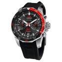 kwarcowy zegarek Vostok 6S21-2255295 z opcją -pasek silikonowy