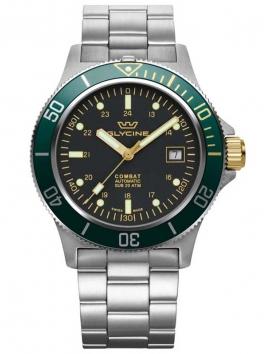 zegarek męski na bransolecie Glycine combat GL0272