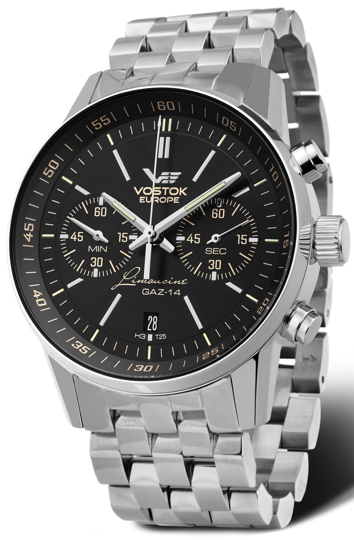 zegarek męski VOSTOK EUROPE Gaz-14 Limousine 6S21-565A599