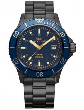 zegarek męski na bransolecie Glycine Combat GL0295