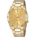 Złoty zegarek japoński Seiko SNKE06K1