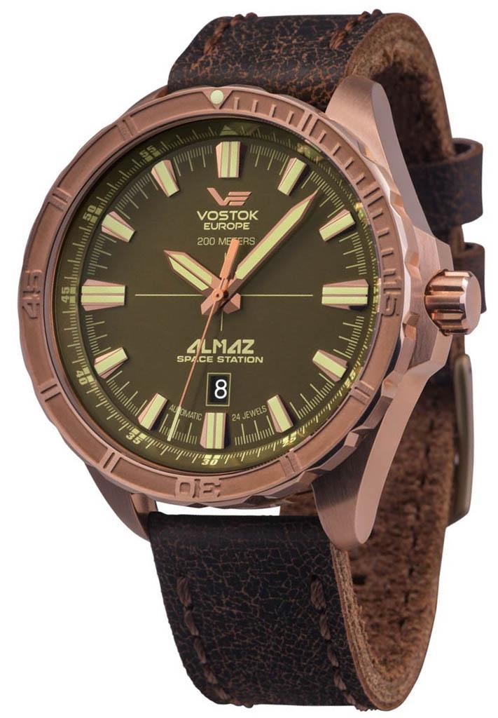 zegarek męski Vostok Europe Almaz NH35A-320O516