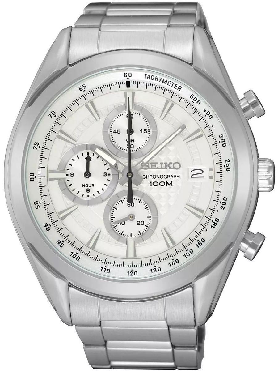 zegarek męski Seiko z dwuletnią gwarancją SSB173P1