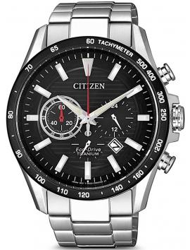męski zegarek na bransolecie CITIZEN Eco-Drive Titanium CA4444-82E